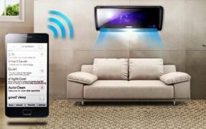 El aire acondicionado y los Smartphones